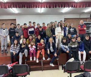 Maria Helena Antolin en las Aulas