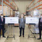 Empresa Familiar de Castilla y León entrega 336000 euros y 80 toneladas de productos a Banco de Alimentos