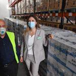 Mercadona entrega 13.500 litros de leche al Banco de Alimentos de Tarragona