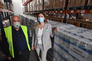 Mercadona dona leche a Banco de Alimentos