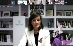 Rocío Hervella, nueva presidenta de EFCL
